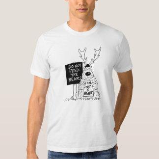 No alimente a osos las camisetas divertidas remeras