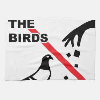 No alimente a pájaros la muestra toallas de mano