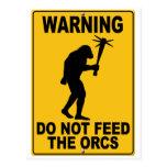 No alimente el Orcs Postal