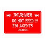 No alimente los agentes del FBI Postal