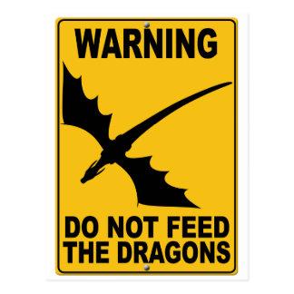 No alimente los dragones postales