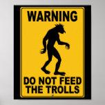 No alimente los duendes impresiones
