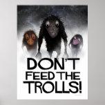 ¡No alimente los duendes! Poster