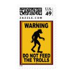 No alimente los duendes sello