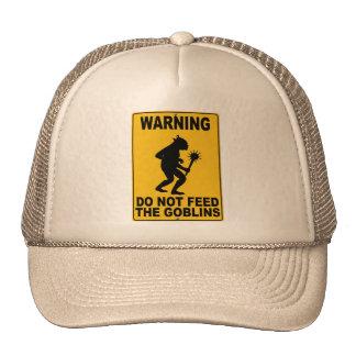 No alimente los Goblins Gorros Bordados