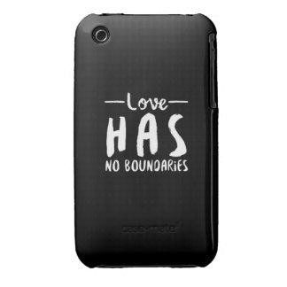 No ame ningún límite iPhone 3 Case-Mate cobertura