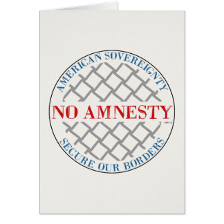 No Amnesty Card