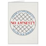 No Amnesty Cards