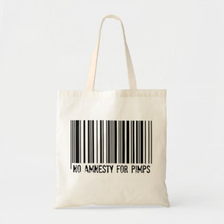 No Amnesty For Pimps - tote bag
