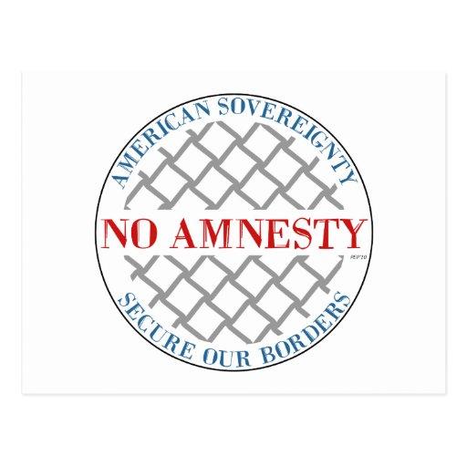 No Amnesty Post Card