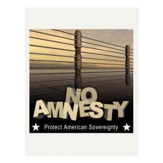 No Amnesty Postcard