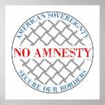 No Amnesty Print