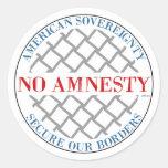 No Amnesty Stickers
