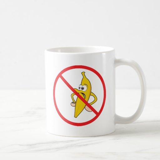No Angry Bananaheads! Coffee Mug