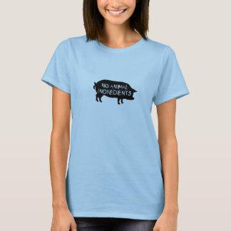 No Animal Ingredients Pig T-Shirt