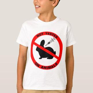 No Animal Testing Symbol T-Shirt