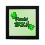 No apenas irlandés sino Irich Caja De Recuerdo