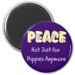 No apenas para los hippies imán para frigorifico