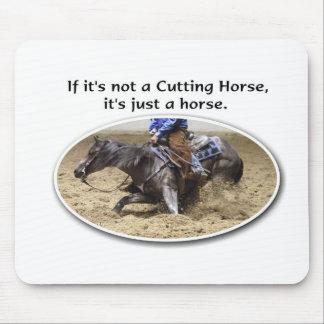 no apenas un caballo alfombrillas de ratón