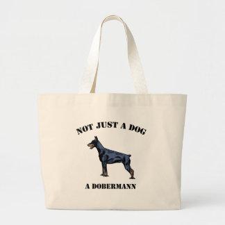 No apenas un perro bolsa tela grande