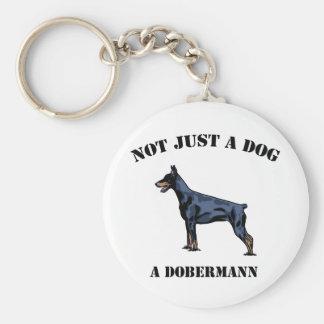 No apenas un perro llavero redondo tipo pin