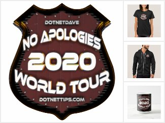 No Apologies World Tour - 2020