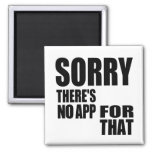 No App For That Refrigerator Magnets