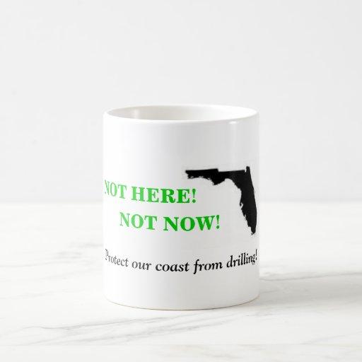 No aquí no ahora taza de café