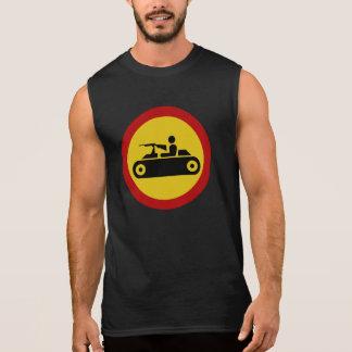 No Armored Vehicles, Traffic Sign, Bosnia Sleeveless Shirt