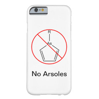No Arsoles! Barely There iPhone 6 Case