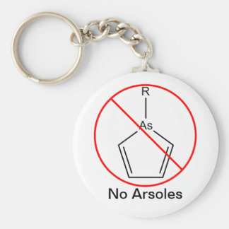 No Arsoles! Keychain