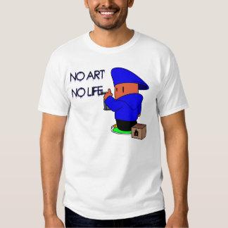 No Art No Life T-Shirt