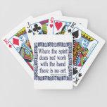 No Art Poker Cards