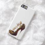 """""""No asustado de diseño elegante del tacón alto de Funda Barely There iPhone 6"""