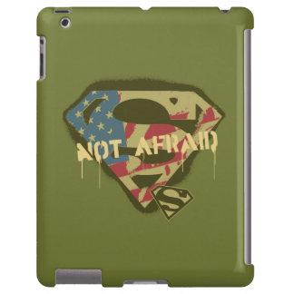 No asustado - S-Escudo de los E.E.U.U. del Funda Para iPad