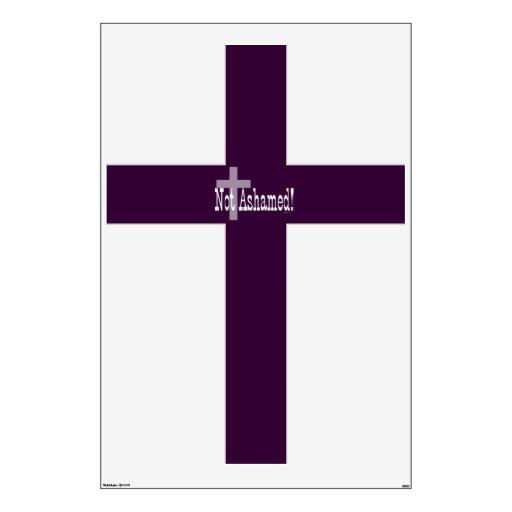 ¡No avergonzado! 1:16 de los romanos (con la cruz)