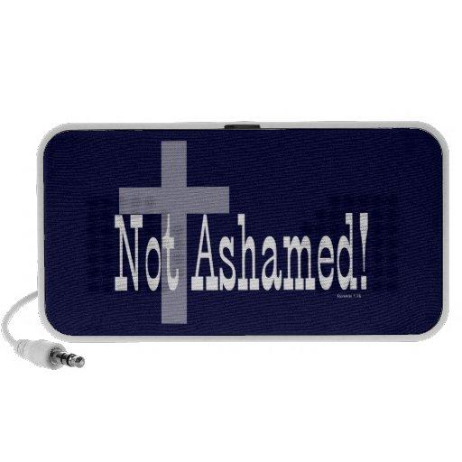 ¡No avergonzado! 1:16 de los romanos (con la cruz) Mp3 Altavoces
