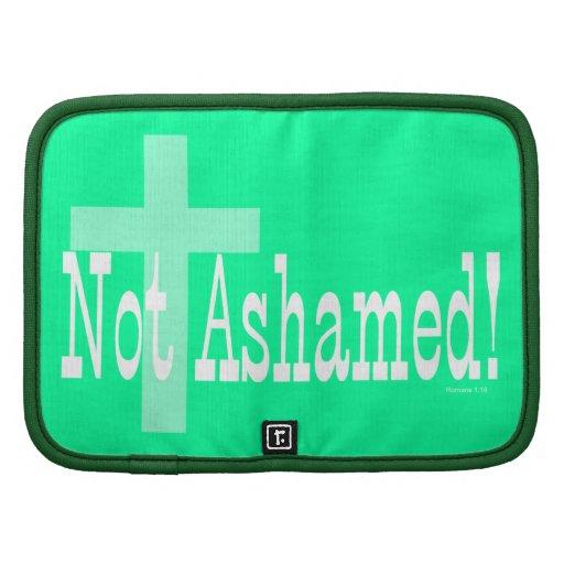 ¡No avergonzado! 1:16 de los romanos (con la cruz) Organizador