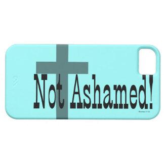 ¡No avergonzado! 1:16 de los romanos (con la cruz) iPhone 5 Fundas