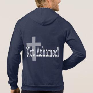 ¡No avergonzado! 1:16 de los romanos (con la cruz) Sudadera Con Capucha