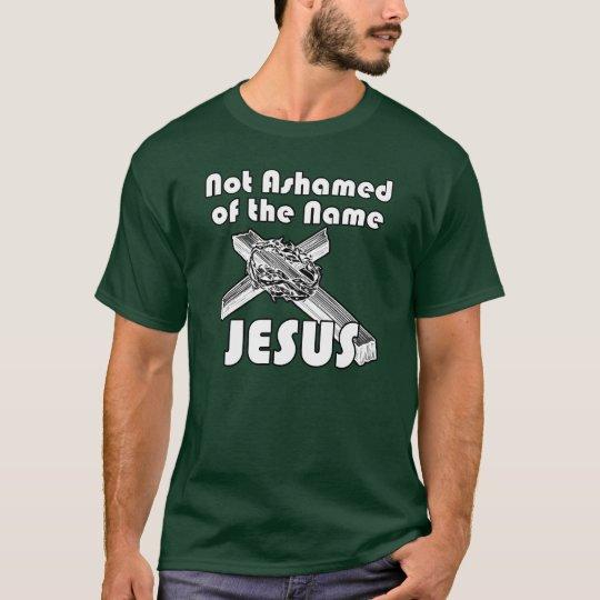 No avergonzado del Jesús conocido Playera