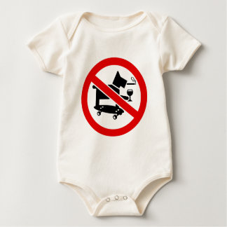 No Awesome Dogs Baby Bodysuit