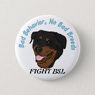 No Bad Breeds Button