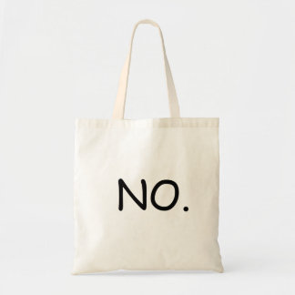 NO BUDGET TOTE BAG
