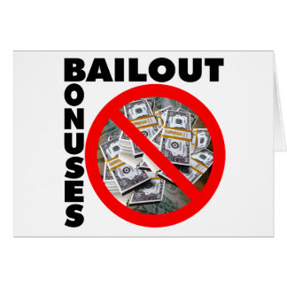 No Bail Out Card