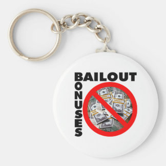 No Bail Out Keychain