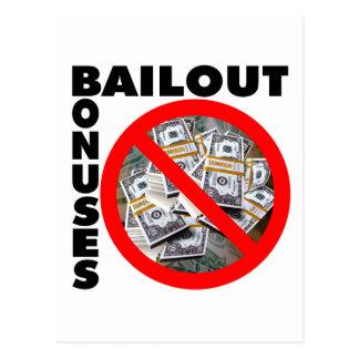 No Bail Out Postcard