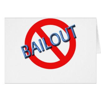 No Bailouts Card
