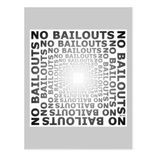 No Bailouts Postcard