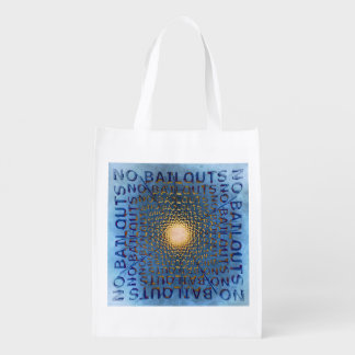 No Bailouts Reusable Grocery Bag
